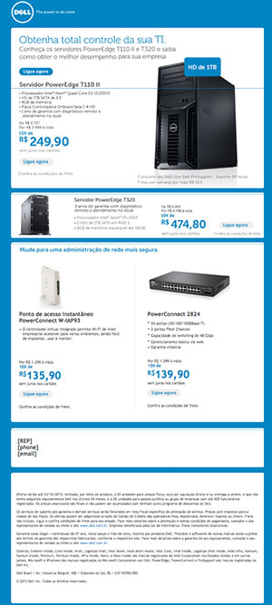 Dell Blue Email